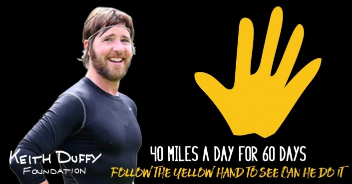 Steveys Epic Adventure poster with Stevey and yellow hand of friendship