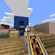 Steveys pitstop in Minecraft Lovely World