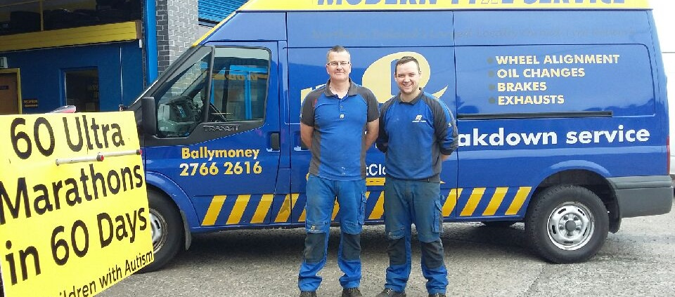 Modern Tyre Service, Ballymoney